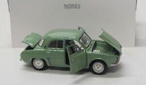 Renault Dauphine ( 1958 ) hell grün / Norev 1:18