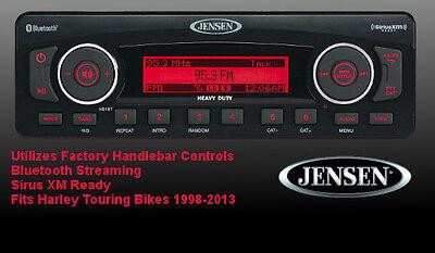 Jensen Plug N Play Stereo Radio Upgrade Harley Touring Harman Kardon Replacement