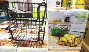 Gourmet Basics by Mikasa 2PK Hartney Baskets