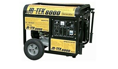 Jd-tek 8000 Gas Powered Portable Electrical Generator Brand New