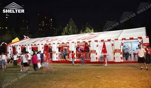 Company Designed Small Marquee for Branding & Charitable Activit