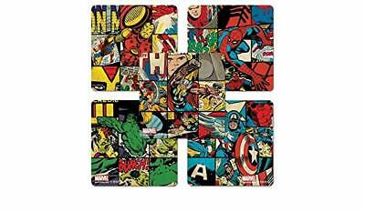20 Marvel Retro STICKERS Party Favors Supplies for Loot Treat Bags Birthday Hulk - Hulk Party Favors