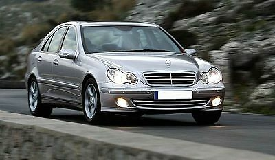 Chiptuning Mercedes W203 C320 CDI 224PS auf 260PS/600NM // AMG C 320 cdi OBD 2