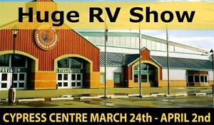 HUGE RV SALE MARCH 24-APRIL 2nd