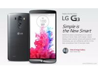 LG G3 Android Smart Phone - Boxed - Unlocked
