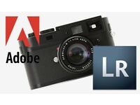 GENUINE ADOBE PHOTOSHOP LIGHTROOM 5 .2 NEW ON ORIGINAL DISC WITH KEYS TO ACTIVATE FOR PC AND MAC