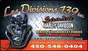 Mécanicien moto Harley Davidson 59.95$,vente pièces/accessoires