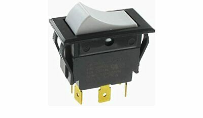 Vintage Carling SPST ON-OFF Slide Switch  15A @ 125V AC /& 10A @ 250V AC ~ 1//2HP