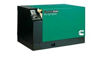 Cummins Onan 8.0hdkak-1046 Quiet Diesel Rv Generator Includes Free Shipping