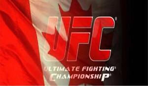 UFC Tickets Toronto Air Canada Centre 1 in sec 119 $200 or 3 in sec 108 $250ea or 2 FLOOR center row $350ea 905-441-6657