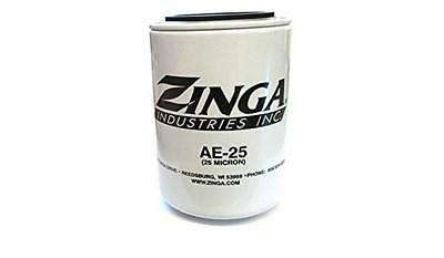 Hydraulic Oil Filter Element Zinga Ae-25 Micron Spin On Fits Also Parker 92502