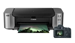 Imprimante Canon   Pro 100 + 7 cartouches d'encre additionnelles