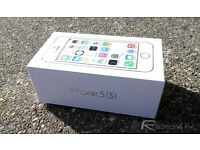 iPhone 5s. Brand new in sealed box. On 02.