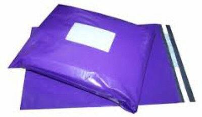 Purple Mailing Bags x100 6x9