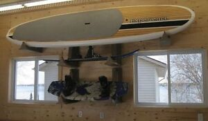 Storage Solutions for SUP, Kayak & Paddles at Home & the Cottage