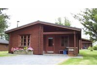 Log cabin holiday in beautiful Carmarthenshire with excellent facilities