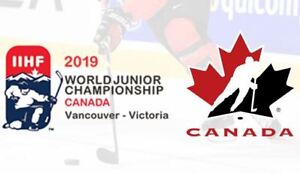 World Junior Championship 2018/2019 - Hockey Tickets FOR SALE
