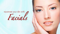 Facials for Spring only $35.