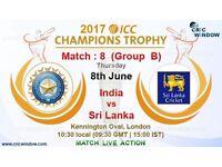 India vs SriLanka CT17