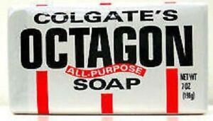 Lot of 10 Colgate Octagon All Purpose Soap Bar 7 oz