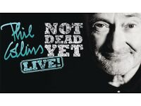 Phil Collins Tickets Liverpool 2nd June 2017