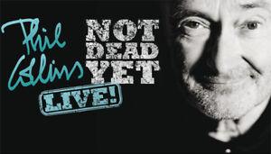 Phil Collins billets (Rouge et Blanc)