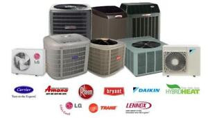NEW AIR CONDITIONER & FURNACE