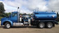 I am a pressure/vac truck operator looking for work.
