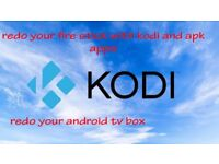 redo your firestick or android box with apks and kod i