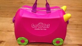PINK TRUNKI HARDLY USED