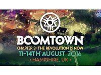 Boomtown Festival 2 x Weekend Tickets