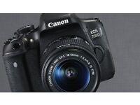 Canon 750D ( Canon EOS 750D ) 24 MP body. Boxed. Virtually unused!