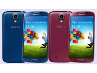 SAMSUNG GALAXY S4 UNLOCKED MINT CONDITION COMES WITH WARRANTY & RECEIPT & ALL ACCESSORIES
