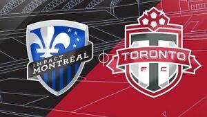 2 Tickets Montreal Impact vs Toronto FC June 8