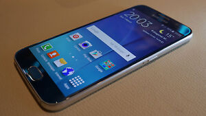 SAMSUNG GALAXY S6 (BLUE) 32GB - ROGERS/FIDO (Negotiable)