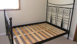 Ikea Noresund Double Bed Frame