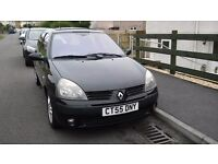 Renault Clio 1.5 Diesel. 2005, Low mileage. Only £20 year Tax