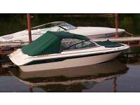 1989 SeaRay 160 Bowrider Runabout Boat 130hp Mercruiser w/ Alpha drive & Trailer