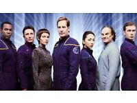Star Trek Enterprise all 4 DVD Boxsets in collectors hard dvd cases as new .. £25