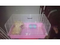 Rabbit or guinie pig indoor large hutch