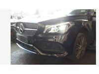 A single unit: Front end assembly right hand drive UK Mercedes CLA 2017 (A Class W176 W246 B-Class)