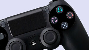 BLACK PS4 CONTROLLER FOR SALE Peterborough Peterborough Area image 1