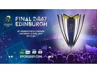 Rugby European champions final tickets 13th of May
