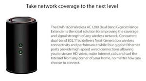 WiFi Range Extender/Repeater Gigabit