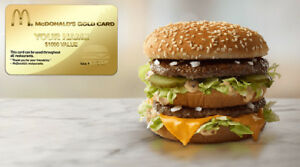 McDonalds Gold Card! Free Mcdonald's For a year!