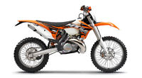 KTM XCW 300 motor, parts or complete bike wanted