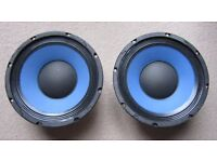 "Ashdown 10"" 100W Blueline Speakers x 2 (Will Courier)"