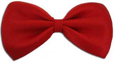 Unisex Rot oder Weiss Fliege Krawatte Kostüm, Clowns, - Tanz Clown Kostüme