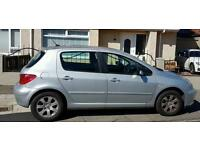 04 Peugeot 307 for sale cheap car