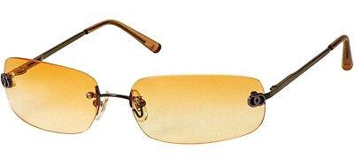 SALE ~ Sunoptic Ladies Sunglasses ~ UV400 ~ Orange ~ Retro Style